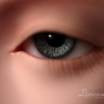 Dollshe Lightblue, 14mm
